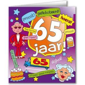 Verjaardagskaart Cartoon 60 Jaar