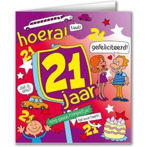 Verjaardagskaart 16 Jaar
