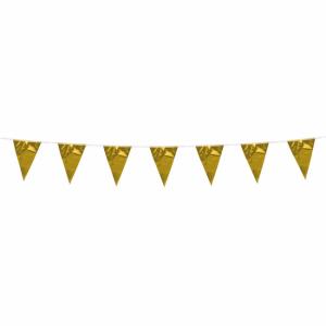 Vlaggenlijn Metallic Goud klein
