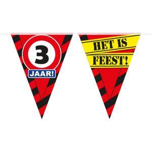 Party Vlaggenlijn 3 jaar