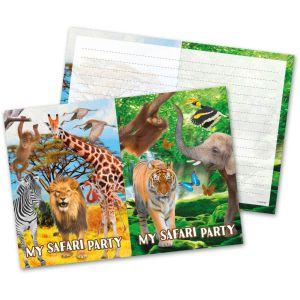 Uitnodigingen Safari