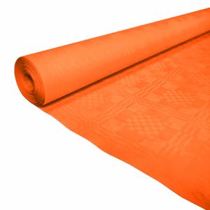 Tafelkleed damast oranje