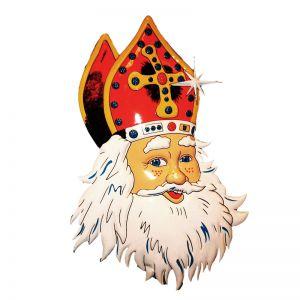 Wanddeco Sinterklaas Lach