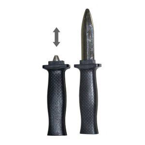 Inschuifbaar mes ( plastic )