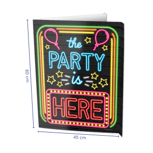 Raambord The Party is Here Neon