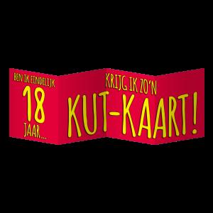 Surprise Kaart - Eindelijk 16 jaar