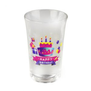 Happy Shot Glaasjes 50 jaar