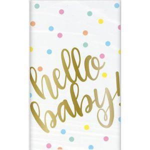 Tafelkleed Hello Baby