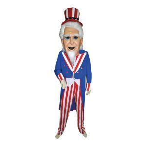 Mascotte Uncle Sam Kostuum