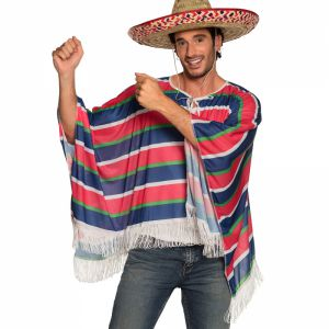 Mexicaanse Poncho Fiesta