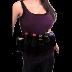 Riem voor drank zwart