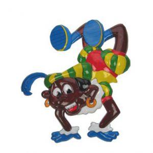 Wanddeco acrobatische Piet
