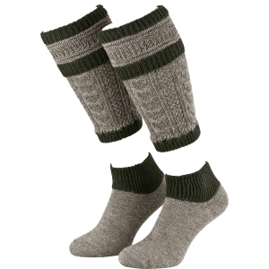 Loafer set Beenwarmers en sokken 39-42