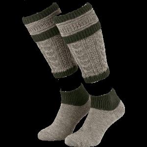 Loafer set Beenwarmers en sokken 43-46