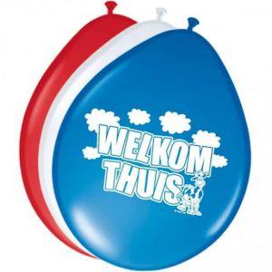 Ballon Welkom Thuis (8 stuks)