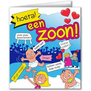 Wenskaart Zoon