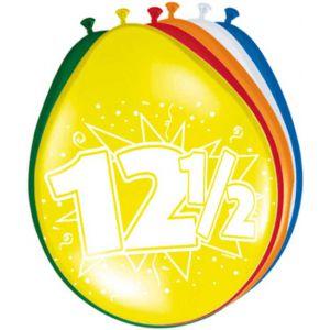 Ballonnen 12 1/2 jaar (8 stuks)