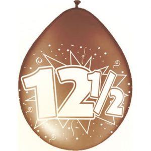 Ballonnen Brons 12 1/2 jaar Brons (8 stuks)