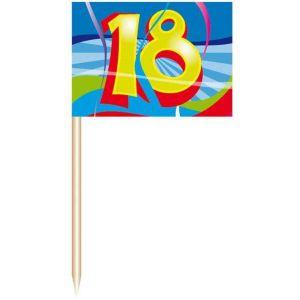 Party Prikkers 18 jaar (50 stuks)