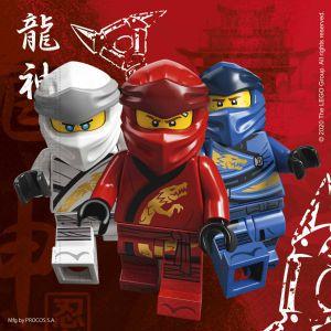 Servetten Lego Ninjago