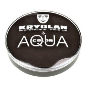 Kryolan aquacolor 102 donker bruin 20 ml.