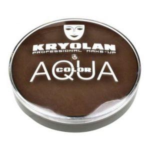 Kryolan aquacolor 101 licht bruin 20 ml.