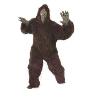 Mascotte aap zwart one size