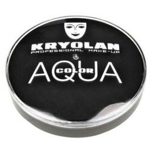 Kryolan aquacolor 071 zwart/bruin 20ml