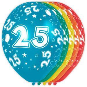 (n) Ballonnen 30 Jaar (12 stuks)
