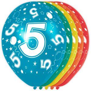 (d) Ballonnen 4 Jaar (12 stuks)