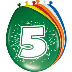 (a) Ballonnen 1 Jaar (12 stuks)