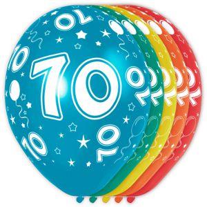 (p) Ballonnen 50 Jaar (12 stuks)