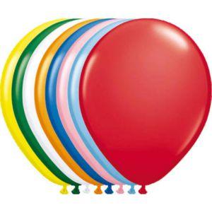 Latex Ballonnen Metallic 13 cm mix kleuren (20 stuks)