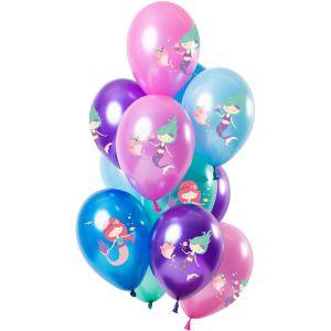 Latex ballonnen meerkleurig Dino's