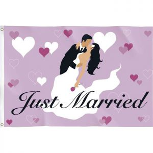Vlag Just Married