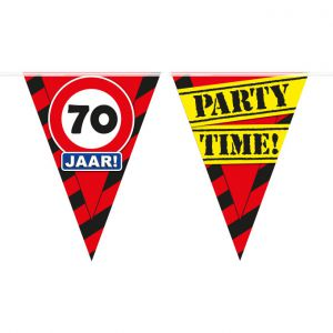 Party Vlaggenlijn 70 jaar