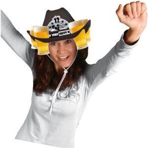 Cowboy hoed suede look