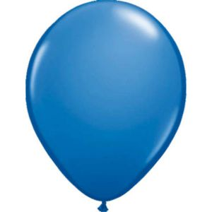 Latex Ballonnen 13 cm Donkerblauw (20 stuks)