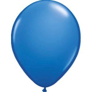 Ballonnen nr. 14 Blauw Metallic (10 stuks)