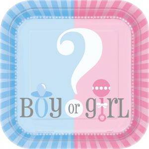 Bordjes Gender Reveal Girl or Boy
