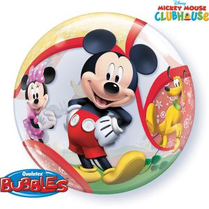 Folieballon bubbles Mickey Mouse