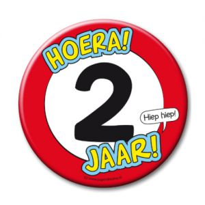 Button XL 2 jaar
