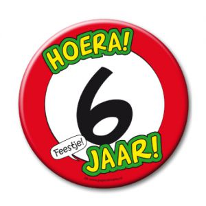 Button XL 6 jaar