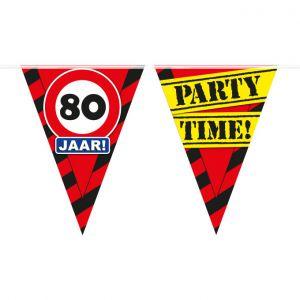 Party Vlaggenlijn 80 jaar