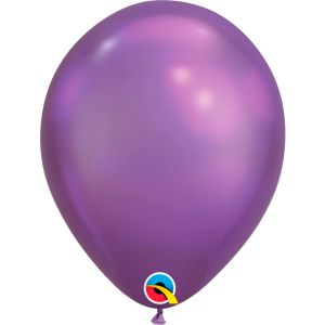 Qualatex Chrome Paarse ballonnen