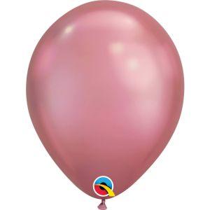 Qualatex Chrome Zilveren ballonnen (10 stuks)