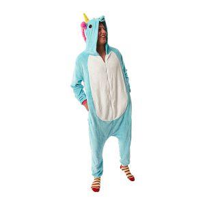 Eenhoorn kostuum blauw