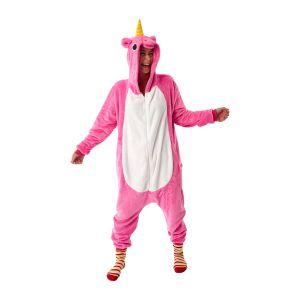 Eenhoorn kostuum roze