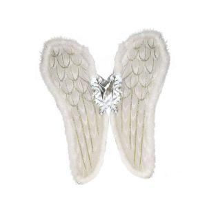 Engelen vleugels Wit Luxe 80 cm