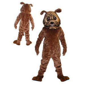 Mascotte Bulldog Kostuum